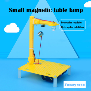 physics technology Electronic diy kit Light control induction lamp Automatically turn on night day turn off Kids steam Toy