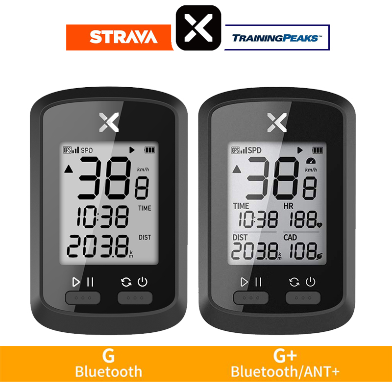 XOSS Bike Computer G+ Wireless GPS Speedometer Waterproof Road Bike MTB Bicycle Bluetooth ANT+ with Cadence Cycling Computers