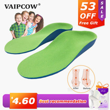 3D Orthotic Insoles flat feet for kids and Children Arch Support insole for X-Legs child orthopedic shoes Foot Care sunvo orthotic insoles for kids flat feet arch support children insole child orthopedic correction shoes pads foot health care