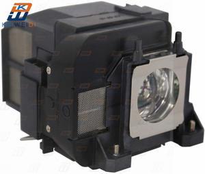 Image 2 - Lampa projektora dla ELPLP75 do projektora EPSON EB 1940W EB 1945W EB 1950 EB 1955 EB 1960 EB 1965 H471B PowerLite 1940W z obudową