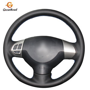 Genuine leather steering wheel