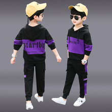 цены Boys 2019 New set for Children's Leisure  Sports Fashion suit hight quality kids outfits