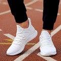 Luz formadores dos homens tênis casuais verão respirável vermelho branco preto malha tênis baixo rendas até sapatos masculinos outdoo uik9