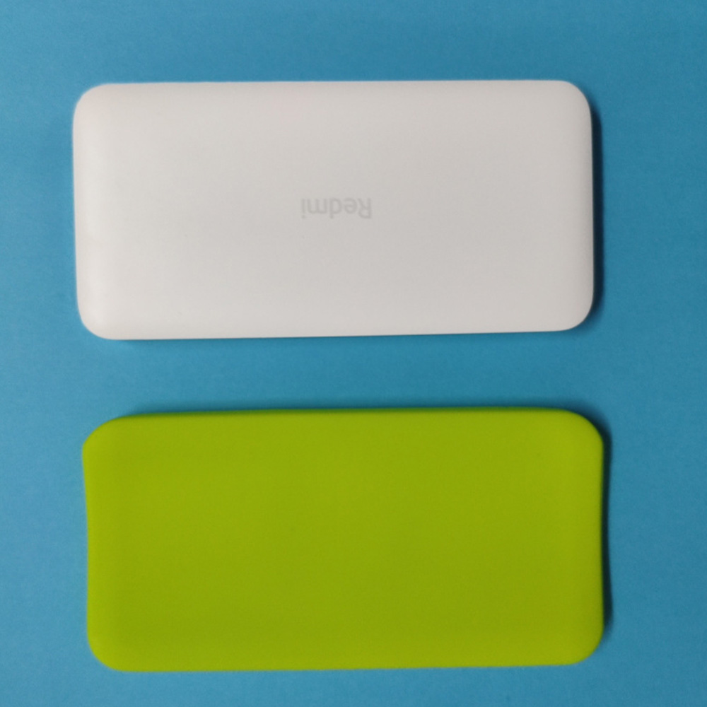 Silicone Protector Case Cover Skin Sleeve Bag for New Xiaomi Xiao Mi 2 <font><b>10000mAh</b></font> Dual USB Power Bank <font><b>Powerbank</b></font> Accessory image