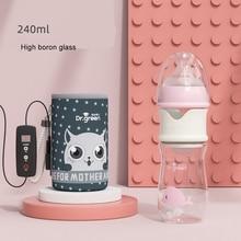 Milk USB Baby Bottle Warmer Car Heater Food Feeding Heat Insulated Thermal Insulation Bag Stroller Accessories Bags Nursing Care