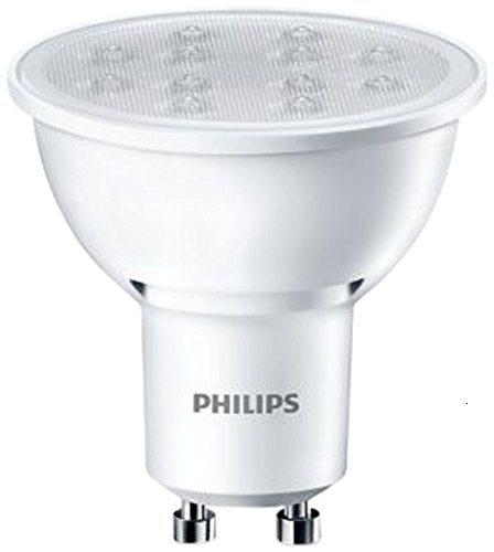 Philips - Foco LED, Casquillo GU10, Color Blanco