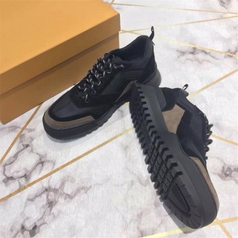 Designer Luxus Socke Schuhe Atmungsaktiv casual Schuhe Für Männer Neue joint Leder Trainer Marke Mode Turnschuhe 39 45 - 3