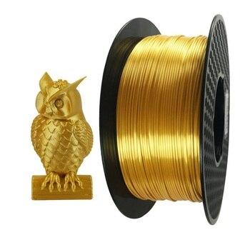 PLA 3D Printer Filament Golden