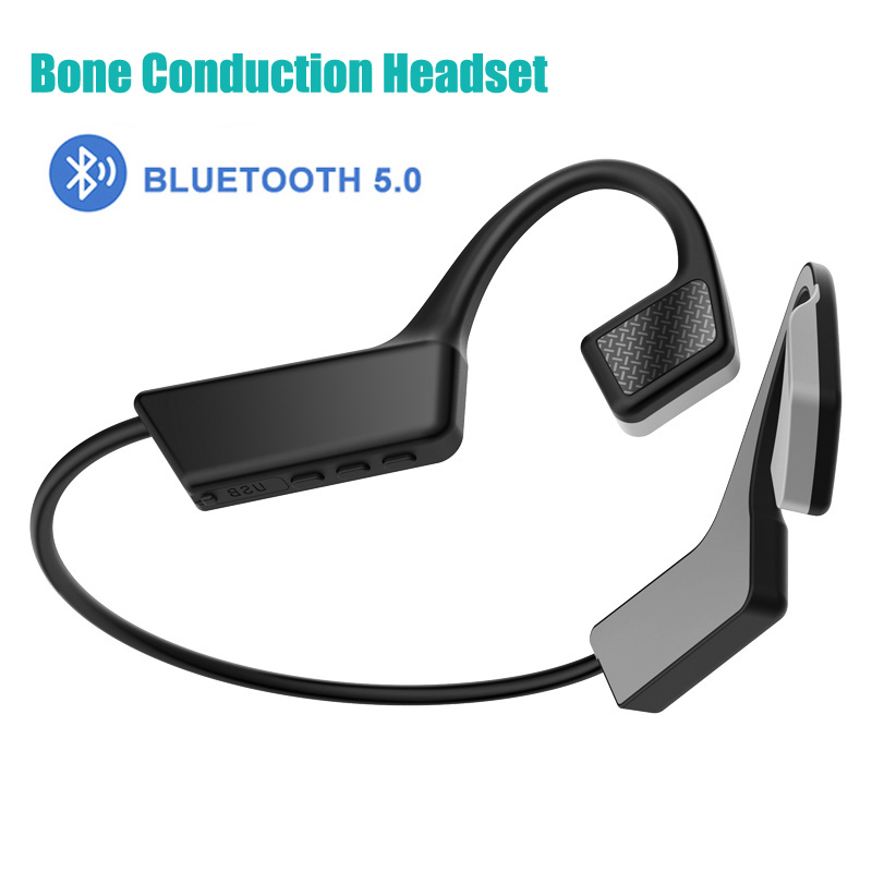Knochen Leitung Headset Bluetooth 5,0 Wireless Headset Bluetooth Bluetooth Headset TWS <font><b>Bloototh</b></font> Android Sport Headset image