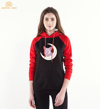 Anime Sailor Moon Printn Raglan Hoodies Women 2020