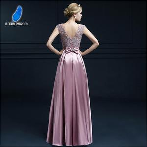 Image 2 - DEERVEADO S306 Sexy See Through Plus Size Prom Dresses A Line Floor length Long Formal Dress Evening Gown Robe De Soiree