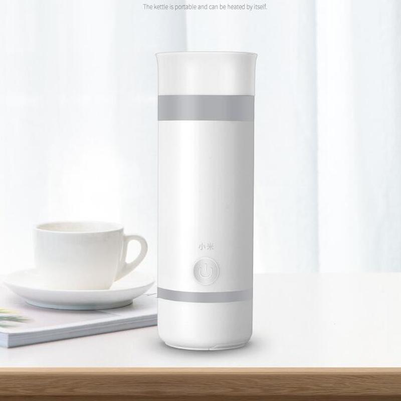 Xiaomi Electric Hot Water Cup Travel Electric Kettle Electric Boiling Cup Water Bottle Portable Burning Cup Mini Health Cup 4