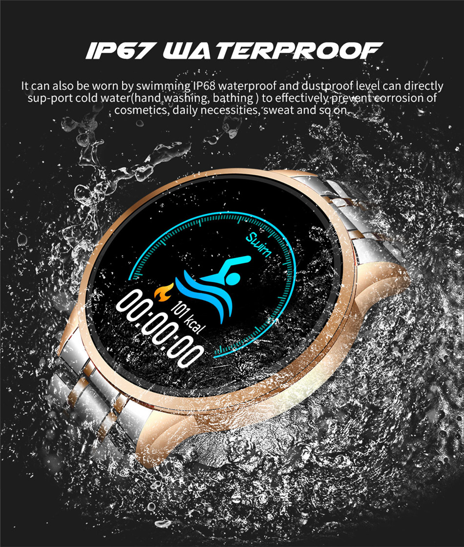 H26463dc9baa949309703584689120727T LIGE 2020 New Smart Watch Men Heart Rate Blood Pressure Information Reminder Sport Waterproof Smart Watch for Android IOS Phone