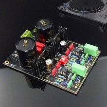 KYYSLB AC Dual 12V ~ 20V Phono Versterker NE5532 OPA2111 49720NA DUAL Lijn Zingen Zwart Vinyl Platenspeler MM MC Phono Zingen Board