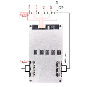 Image 4 - 4S Li ion Lifepo4 Lithium 3.2V Battery Protection Board BMS 12V 16.8V balance 80A 120A 150A 160A 200A 380A continuous 18650 Lipo