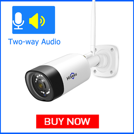 Hiseeu 1080P IP Camera Two Way Audio
