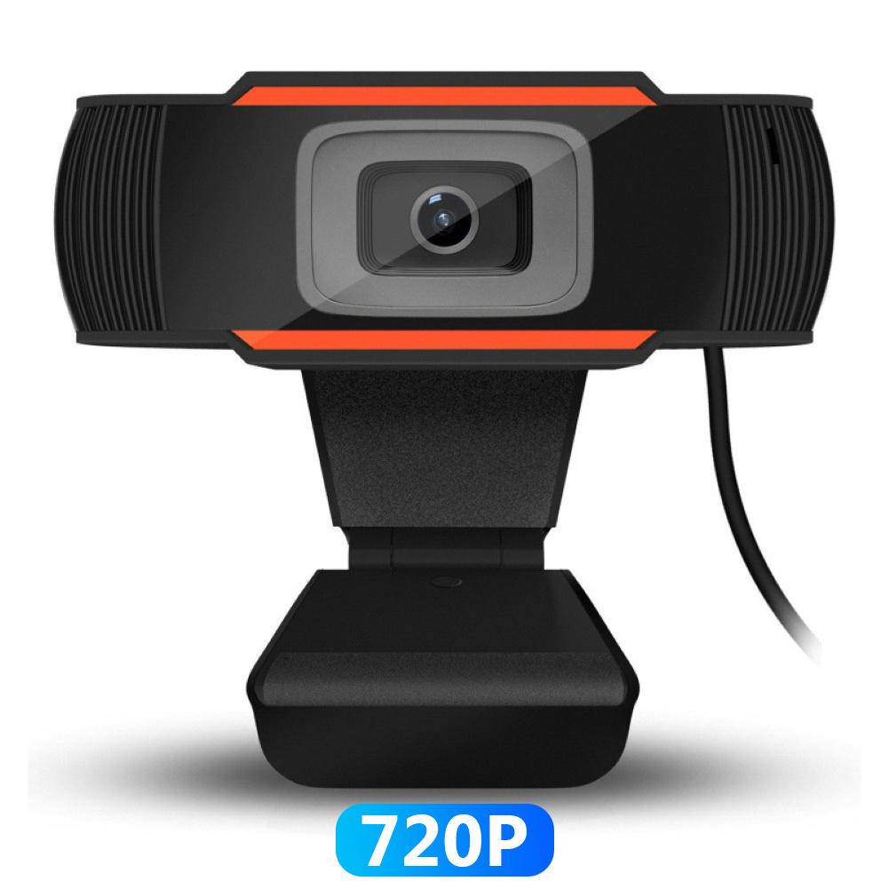 1Pc 1280*720 Resolution USB Camera Webcam With Microphone For PC Desktop Computer Laptop With User Manual