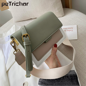 Image 1 - Brand Leather Crossbody Bags For Women 2020 Chain Shoulder Messenger Bag Lady Travel Purses Mini Handbags Cross Body Bag Fashion
