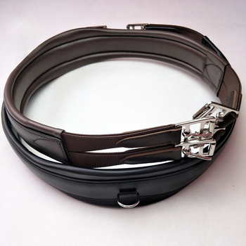Integrated Horse Saddle Girth British English Equestrian Comprehensive Saddle Horse Riding Racing Equipment Accessories