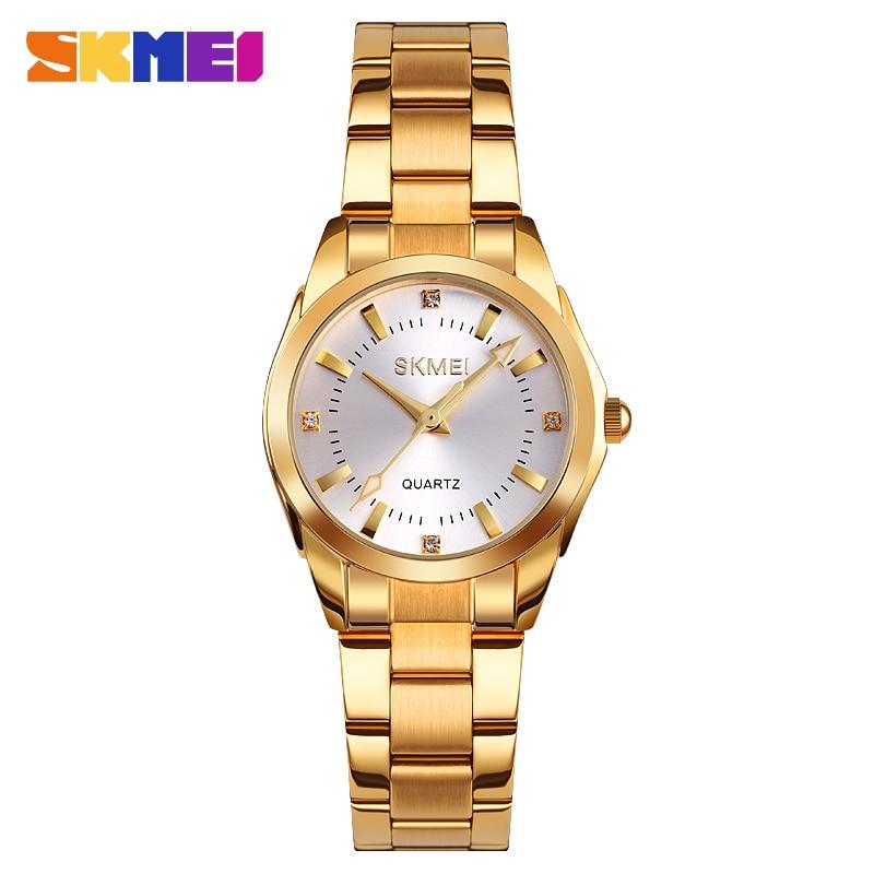2020 SKMEI Casual Women Romantic Quartz Watches Luxury Female Girl Clock Waterproof Ladies Wristwatches Relogio Feminino 1620 2
