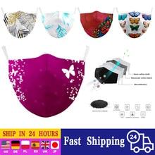 Reutilizável algodão máscara facial unisex máscaras moda algodão pm2.5 adulto boca máscara criativa impressão boca-muffle máscara respirável máscaras