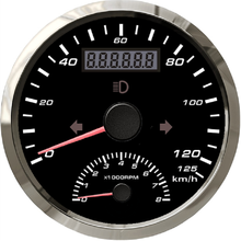 Odometer-85mm Gps-Antenna Indication-Light Motor-Engine Universal 0-8000RPM High-Beam