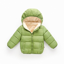 цена на Kids Coat 2019 Winter Parkas Baby Jackets For Girls Warm Thick Hooded Outerwear for Boys Jacket Children Clothes 1 2 3 4 5 Years