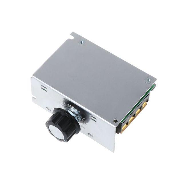 Фото ac 220v 4000w scr регулятор напряжения диммер высокой мощности