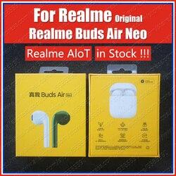 في المخزون RMA205 R1 رقاقة 2020 الأصلي ريليم براعم الهواء Neo Tws Ture سماعة لاسلكية تعمل بالبلوتوث سماعات ENC الحد من الضوضاء سماعة