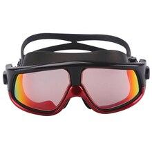 Для мужчин и женщин, очки для плавания, спортивные, профессиональные, анти-туман, защита от ультрафиолета, водостойкие, регулируемые, очки для плавания