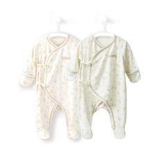COBROO Newborn Baby Cotton Footies with Mittens Animal Pattern Pajamas Sleepwear Socks 0-3 Months