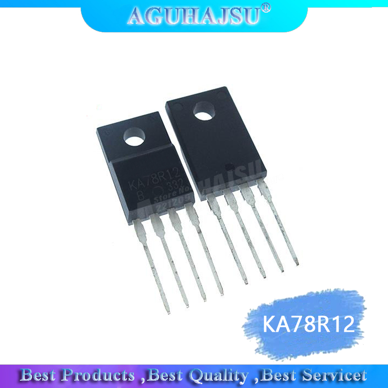10pcs/lot KA78R12 78R12 Four-terminal Regulator Chip 12V1A