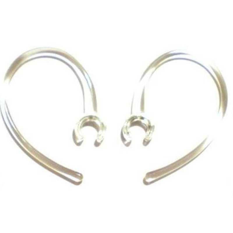 2 małe jasne dobrej jakości earhook-bezprzewodowy zestaw słuchawkowy Bluetooth zaczep na ucho pętli klip zaczep na ucho haki pętle klipy Earloop Earclip Ea