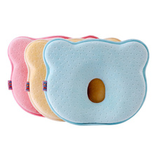Memory Foam Baby Kawaii Pillow Breathable Baby Shaping Pillows To Prevent Flat Head Ergonomic Newborns Pillow J75