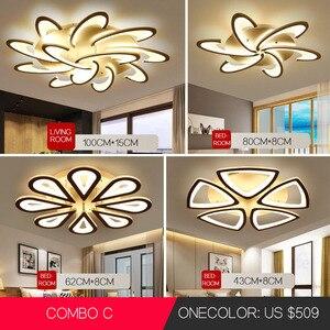 Image 2 - Led Chandelier for living room dining room study room bedroom lamp creative light modern simple decoration