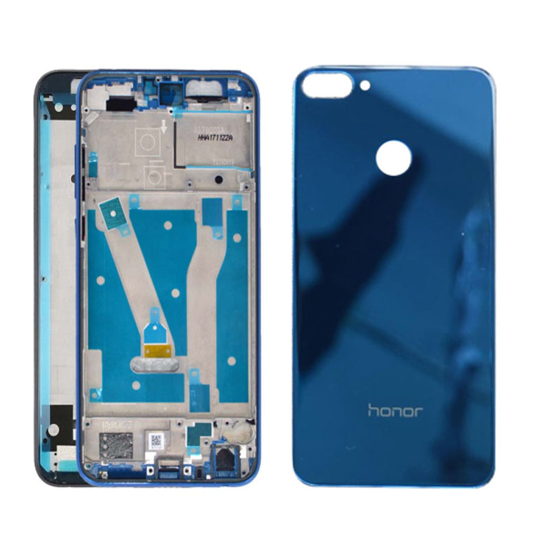 Replacement For Huawei Honor 9 Lite Middle Frame Front Lcd Housing Cover Bezel Plate Chassis+Battery Back Cover With Tools