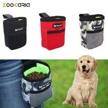 Портативная мини-сумка для тренировок на открытом воздухе, товары для домашних животных, Прочная износостойкая поясная сумка большой вмест...