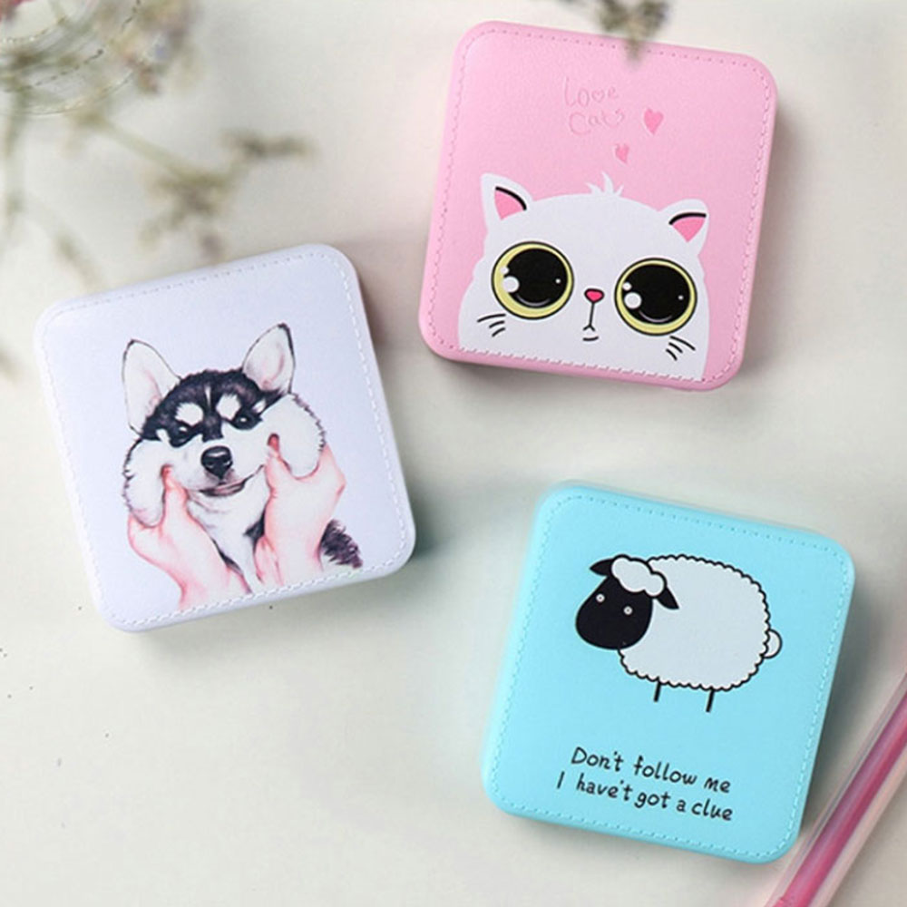 CASEIER Cute Portable Mini Power Bank 10000mAh USB External Battery Pack Charger Slim Powerbank For IPhone 11 Pro Max For Huawei