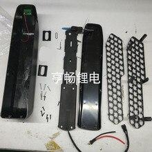 e bike lithium battery box hailong new  kettle style for 48v battery pack with 18650 holder Li ion battery storage box 36v 48v