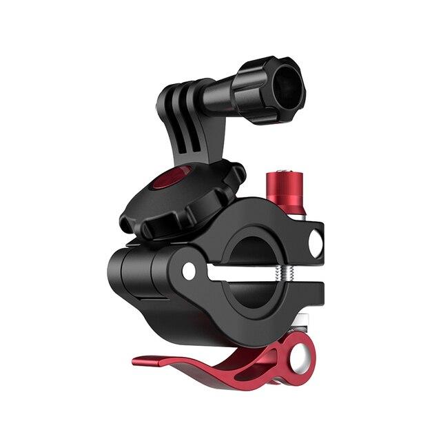 จักรยานจักรยาน Universal Handlebar Clamp Bracket ขาตั้งกล้องสำหรับ GoPro 8 7 6 DJI OSMO กระเป๋า OSMO กล้อง