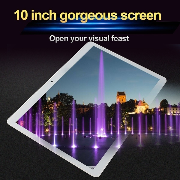 Tablet 10.1 Inch 6GB +128GB Android 8.0 Tablet Octa Core MT6797 Dual SIM Card Pad Pro Phone 4G Call Wifi Android Tablets