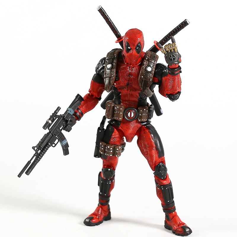 Image 3 - NECA Deadpool 1/10 Scale Ultimate Action Figure Collector Marvel Super Hero Model ToyAction & Toy Figures   -