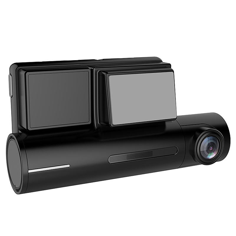 1080p + traseira 1080p câmera dupla lente dashcam registro de condução