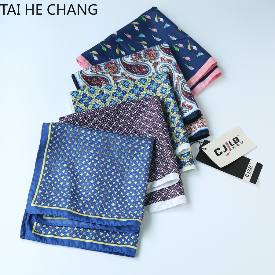 100pcs/lot 28colors Can Choice New Korean Fashion Designer High Quality Pocket Square Handkerchief  33x33 Cm