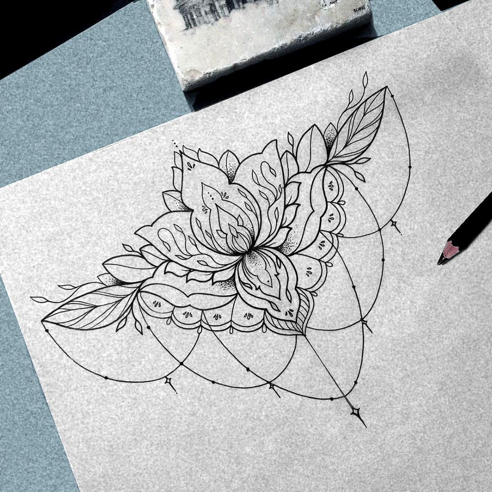 100pcs Tattoo Transfer Sketch Draft Paper Tattoo Accessories Thermal Stencil Paper Printer Paper