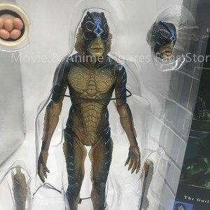 Image 4 - 20cm 원래 neca 물 양서류 남자의 모양 움직일 수있는 액션 피규어 pvc 컬렉션 모델 장난감 선물