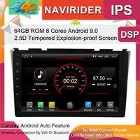 Built in 4G Lte car Intelligent navigation tape recorder 9.0 android car gps radio multimedia player for honda CRV 2006 2011