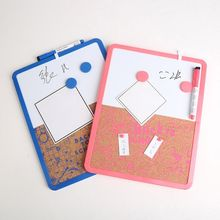 Magnetic Whiteboard Drawing Note Message Cork Board Combination Bulletin Office 97BF