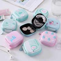 Monedero creativo de aguacate para niños, Mini bolsa con cremallera para moneda, monedero, funda protectora para auriculares