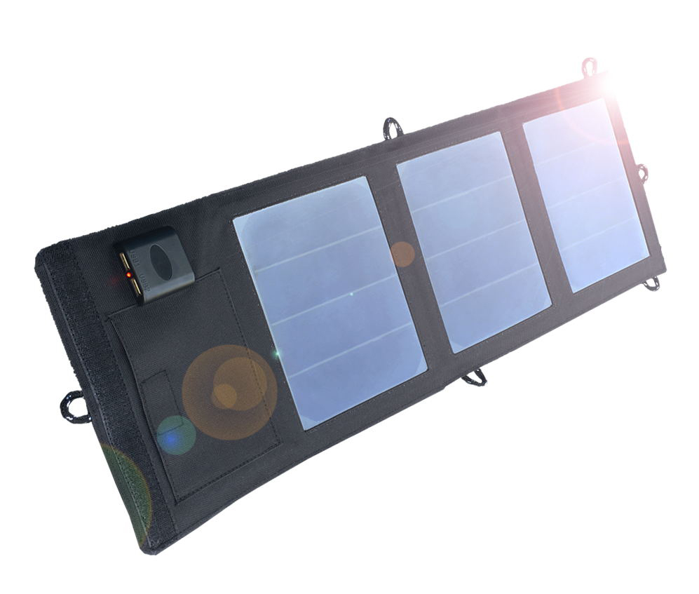100W 5//12V Foldable Portable Solar Panel Battery Charger Camping Hiking Dual